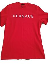 Versace  T-Shirt red Size 42 uk  L