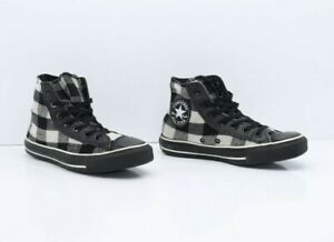 Converse All-Star Nero Alte Usate EUR 37.5 UK 5  Wo's 7 (Cod.SS2666) Donna