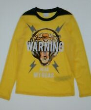 NWT Diesel Kid's Long sleeve T-Shirt -Bright Yellow -Size 10