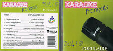 Karaoke CD+G Populaires Francais Vol.12 CDG BRAND NEW, MusicaMonette from Canada