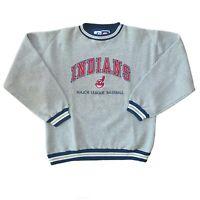 Vintage Cleveland Indians Baseball Chief Wahoo Pullover Sweatshirt Men's Large