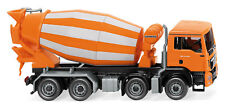 Wiking 068148 - 1:87 - Truck Mixer ( MAN TGS Euro 6 / Liebherr) Orange -