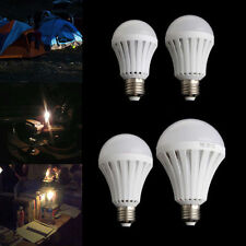 4X12W Smart LED Bulb Light Emergency Lighting Lamp Flashlight Rechargeable Lamps