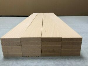 Planned All Round Steam Beech Timber Offcuts 20 Pieces. Various Sizes.