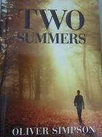TWO SUMMERS OLIVER SIMPSON NEW AND CASE BOUND HARDCOVER VR04