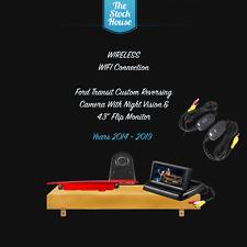"WIRELESS FORD TRANSIT CUSTOM WIFI REVERSING CAMERA & 4.3"" FLIP MONITOR 14-19"