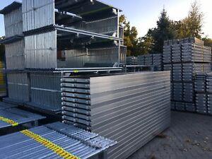 Gerüst / Fassadengerüst T.Baumann Neu 30,84 qm /Scaffolding / Wandgerüst