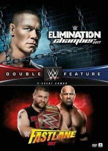 WWE: Double Feature Elimination Chamber 2017 / Fastlane 2017 - 2 DVD Set