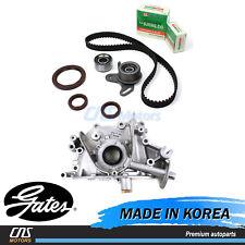 HTD Gates Timing Belt Kit W/ Oil Pump for 2006-2011 Hyundai Accent Kia Rio Rio5