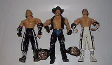 WWE JAKKS TREACHEROUS TRIOS SERIES 6 LOOSE FIGURES PAUL LONDON WANG KENDRICK