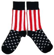 MENS PATRIOTIC STARS TOE STRIPES USA SOCKS UK SIZE 6-11 / EUR 39-46 / USA 7-12