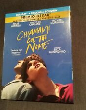 CHIAMAMI COL TUO NOME Bluray +CD +Cartolina AUTOGRAF.-SIGNED