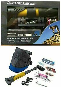 Challenge Bike Saddle Pack and Maintenance Set Brand New & Sealed Boxed