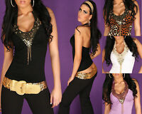 Sexy women top with embroidery pearls new ladies party Blouse size 6 8 10 shirt