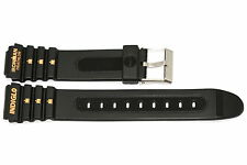 19MM LONG RUBBER TIMEX IRONMAN TRIATHLON SPORT WATCH BAND STRAP
