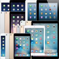 Apple iPad | Air,mini,2,3,4,Pro | WiFi | 16GB 32GB 64GB 128GB 256GB