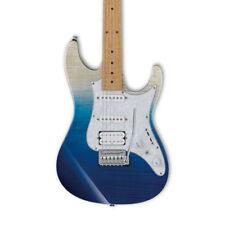 Guitarras eléctricas azul madera maciza