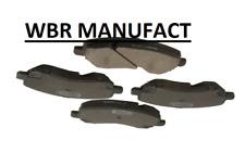 WBR Disc Brake Pad Set FRONT