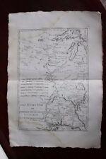 ✒ ca.1780 grande CARTE Etats Unis USA Sud FLORIDE LOUISIANE