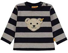 STEIFF Sweatshirt QUITSCH TEDDY beige / blau gestreift  Gr. 86 - 116 NEU 6843773