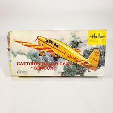 Heller Caudron Renault C 635 Simoun Model Airplane Kit Vintage