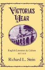 Victoria's Year: English Literature and Culture, 1837-1838-ExLibrary