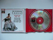 The Incomparable Callas Favourite Arias EMI CDM 763182 CD