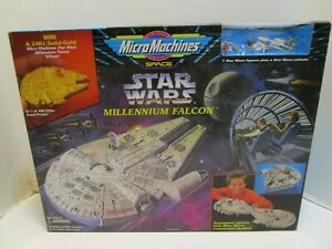 1995 LARGE GALOOB STAR WARS MILLENNIUM FALCON MICRO MACHINES PLAY SET **SEALED**