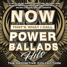 Various Artists - Now That's What I Call Power Ballads [New CD]
