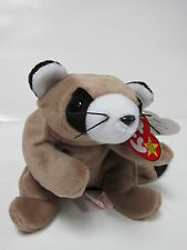 """Ty Beanie Baby """"Ringo"""" the raccoon * Pristine with Mint Tags"""