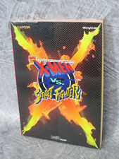 X-MEN VS. STREET FIGHTER Official Guide Book Sega Saturn AP92*
