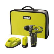 Ryobi .r12dd-ll13s Pistol Grip Drill Lithium-ion (li-ion) 1.3ah Black Yellow ...