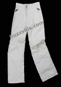 ICE PEAK Girls Off WHITE Carlon 7/8 yrs SKI PANTS trouser Salopettes