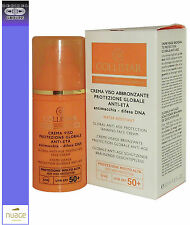 COLLISTAR FACE CREAM TANNING BED PROTECTION GLOBAL ANTI-AGE ANTI-STAIN SFP50+