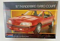 Monogram 87 Thunderbird Turbo Coupe Car Model Kit 1:24 Scale New USA