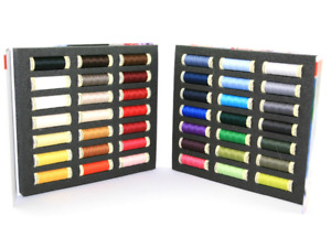 Gutermann 42 x 100m Sew-All Assorted Sewing Thread Album Notebook