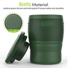 Collapsible & foldable military water/coffee/tea cup School/Office/Travel mug
