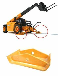 """2x CNH Case TX1055 Telehandler Stabilizers Outriggers Jack Pad 76092972 22x13"""""""