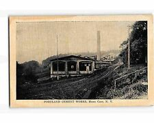 St1835: Portland Cement Works Howe Cave Ny (Vintage postcard)