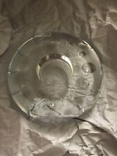 Lenox Round Clear Vota Holder Made In Czech Rep