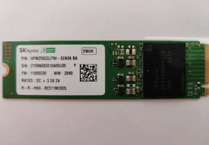 SSD SK HYNIX 256GB PN:HFM256GDJTNI PCI-EX NVME M.2 SATA