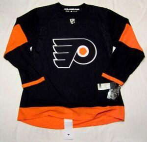 PHILADELPHIA FLYERS size 54 XL  Alternate 3rd ADIDAS Aeroready NHL HOCKEY JERSEY