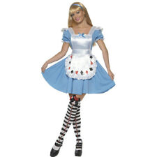 Alice im Wunderland Kostüm Gr S Damen Märchen Kleid Märchenkostüm Märchenkleid