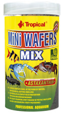 TROPICAL MINI WAFERS MIX 250ml Sinking wafers with astaxanthin and spirulina