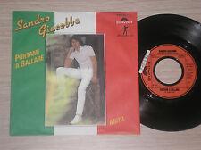 "SANDRO GIACOBBE - PORTAMI A BALLARE - 45 GIRI 7"" GERMANY"