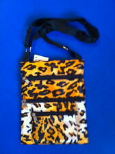 Leopard Animal Print Parade St. Products Mini Shoulder Tote Bag  *NEW w/ Tags*