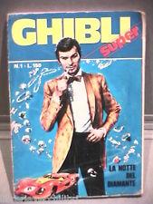 SUPER GHIBLI Editrice Universo 1972 N 1 Fumetti Narrativa per Ragazzi Racconto