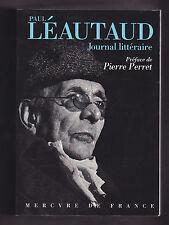 Paul Léautaud, Journal littéraire, Choix de pages.
