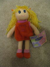 """Groovy Girls 8"""" Soft Rag Doll - Brand New With Tags! Nice Gift!"""