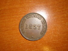 Prince Edward Island 1857 1/2 Penny coin Extremely Fine nice
